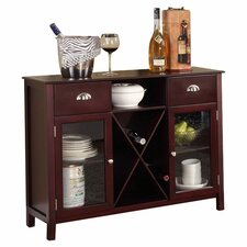 Carol Buffet with Wine Rack