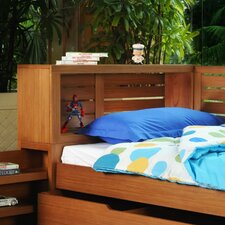 <strong>InRoom Designs</strong> Flyer Slat Bookcase Headboard