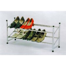 <strong>InRoom Designs</strong> Metal Shoe Rack