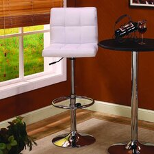 Adjustable Swivel Bar Stool (Set of 2)