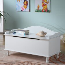 Storage Bench with  Locking Hinged Top
