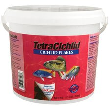 Tetra Cichlid Flakes Fish Food - 1.75 lbs