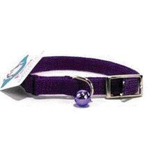 Braided Safety Cat Collar in Purple