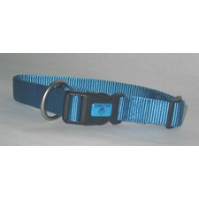 Adjustable Dog Collar in Ocean