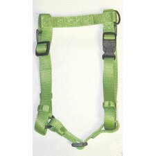 Adjustable Comfort Dog Harness in Lime