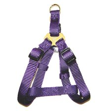 Adjustable Easy-on Harness in Purple