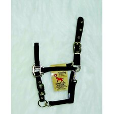 Adjustable Chin Halter with Snap Pony
