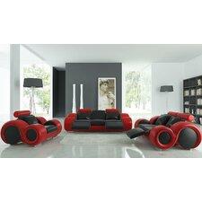 Modern Franco 4 Piece Living Room Set