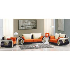 Modern 3 Piece Living Room Set