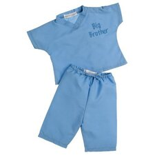 "My First Scrubs in ""No More Blues"" Blue"