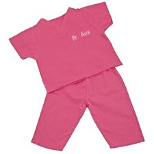 My First Scrubs in Hot Pink