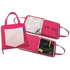 <strong>Princess Linens</strong> 12Doodlebugz Crayola Doodlebag in Hot Pink / Light Pink