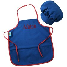 Doodlebugz Crayola Chef Hat and Apron Set in Blue
