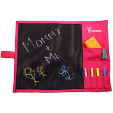Doodlebugz Crayola Chalkboard Placemat in Hot Pink