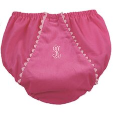 <strong>Princess Linens</strong> Bon Bon Corduroy Diaper Cover in Hot Pink with Light Pink Trim