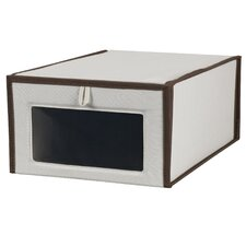 Vision Large Shoe Box with Polypropylene Non Woven Liner