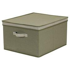 Cotton Storage Box with Sonic Trim Wave