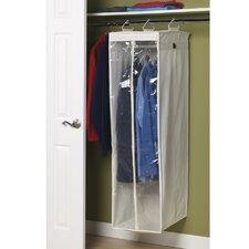 Storage and Organization 2 Compartment Hanging Wardrobe