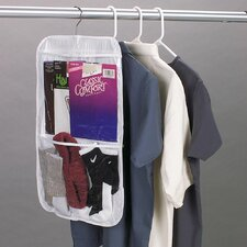<strong>Household Essentials</strong> Storage and Organization Clear Vinyl Stocking Organizer