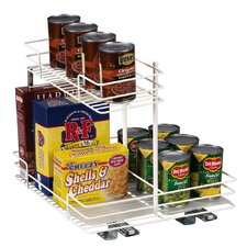 "Glidez 15"" Basket and Half Pantry Organizer"