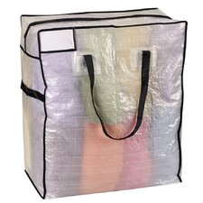 Storage and Organization Medium Tote Bag with Black Trim
