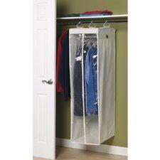 Storage and Organization 2-Compartment Hanging Wardrobe