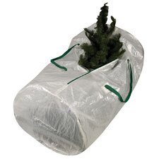 Storage and Organization Christmas Tree Bag with Green Trim