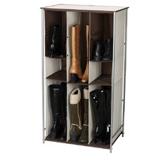<strong>Household Essentials</strong> Adjustable Storage and Organization Free Standing Boot Storage
