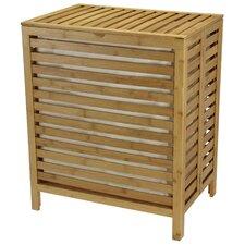Bamboo Open Slate Hamper