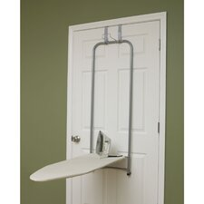 Over-the-Door Self Retracting Ironing Board