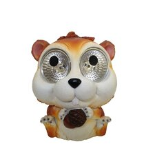 Garden Pals Solar Chipmunk Light Statue (Set of 2)