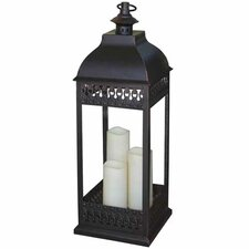 <strong>Smart Solar</strong> San Nicola Triple LED Candle Lantern