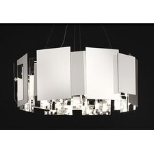 <strong>Oluce</strong> Coroa Double-Face Mirror Suspension Lamp