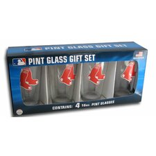 MLB Pint Glass (Set of 4)