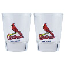 MLB Shot Glass Cup (2 Pack)