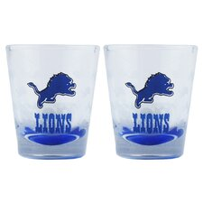 NFL Shot Glass Cup (2 Pack)