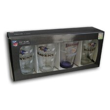 NFL Pint Glass (Set of 4)