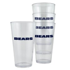 NFL Pint Cup (Set of 4)