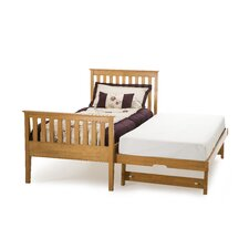 Grace Single Guest Bed Frame with High Foot End