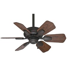 "31"" Wailea 6 Blade Ceiling Fan with Handheld Remote"