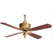"54"" 19th Century 4 Blade Ceiling Fan"