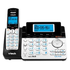 <strong>VTech Communications</strong> Two-Line Expandable Cordless Phone with Answering System