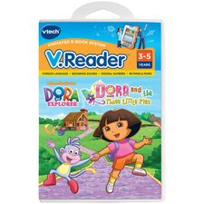 Nickelodeon Dora the Explorer V. Reader Cartridge - Dora and the Three Little Pigs