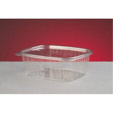 32 Oz Clear Hinged Deli Container
