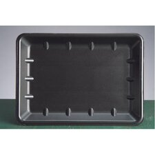 Foam Supermarket Tray in Black