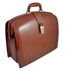 Old Leather Partners Laptop Briefcase