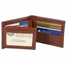 Old Leather Continental I.D. Wallet
