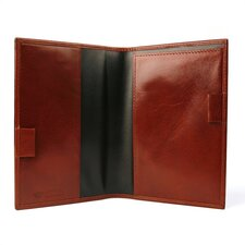 Old Leather Prescription Pad in Cognac