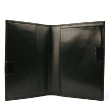 Old Leather Prescription Pad in Black