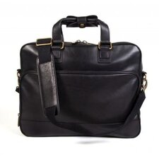 Tacconi Slim Leather Laptop Briefcase